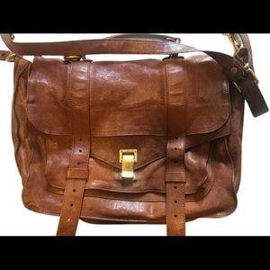 Proenza Schouler PS1 Medium Bag in Saddle Brown